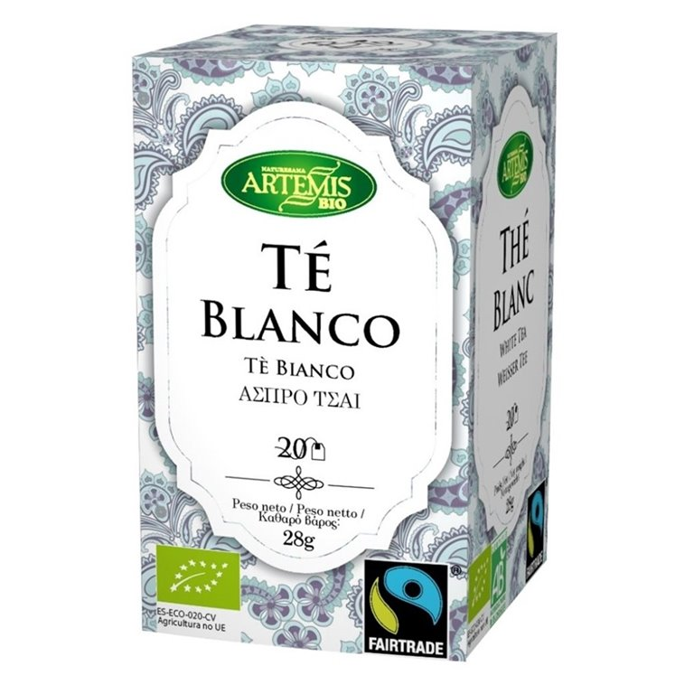 Té Blanco Bio Fairtrade 28g (20tb)