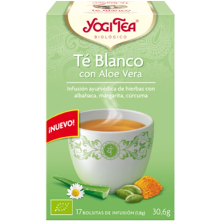 Té Blanco con Aloe Vera Bio 30,6g (17tb)