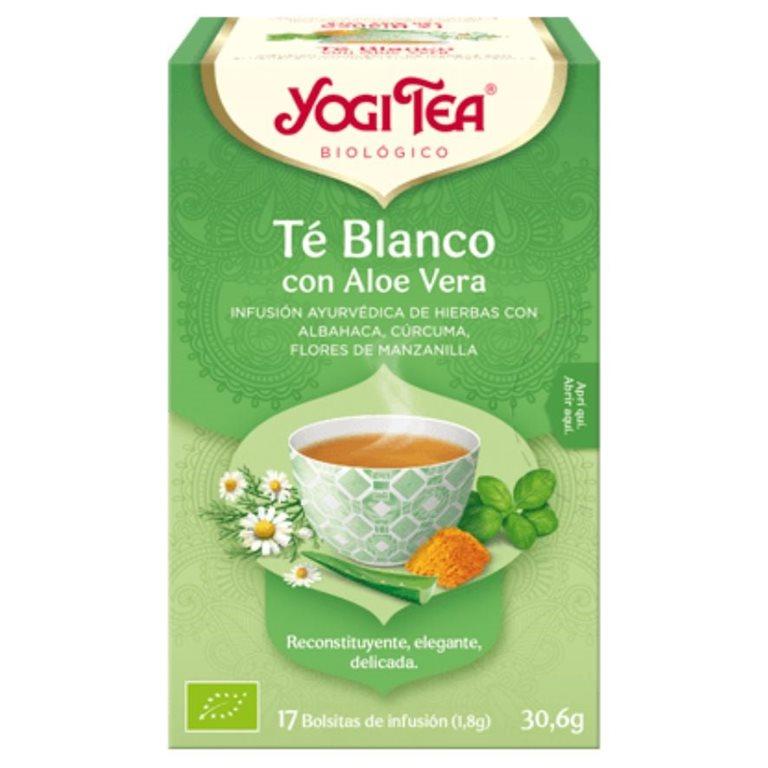 Té Blanco con Aloe Vera Bio 30,6g (17tb), 1 ud