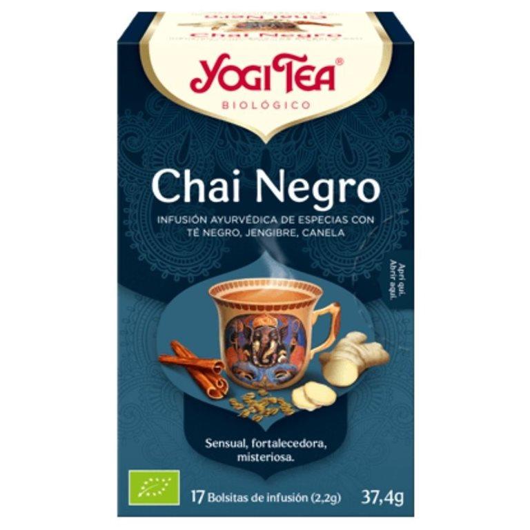 Té Chai Negro Bio 37,4g (17tb), 1 ud