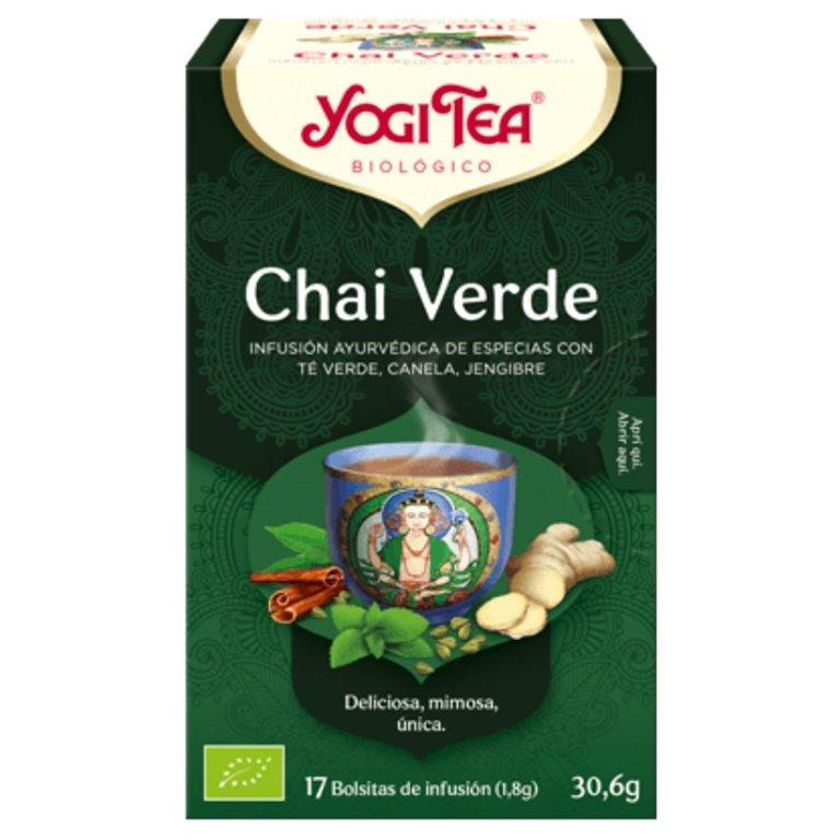 Té Chai Verde Bio 30,6g (17tb), 1 ud