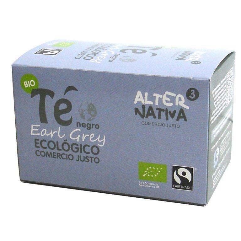 Té Earl Grey Bio Fairtrade 30g (20tb)
