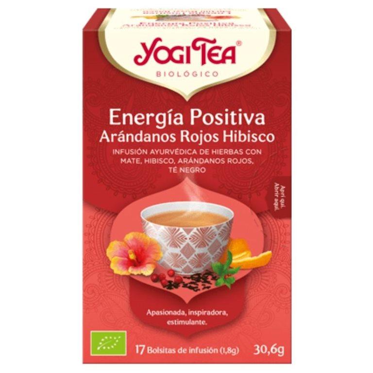 """Té Energía Positiva """"Arándanos Rojos Hibisco"""" Bio 30,6g (17tb)"""
