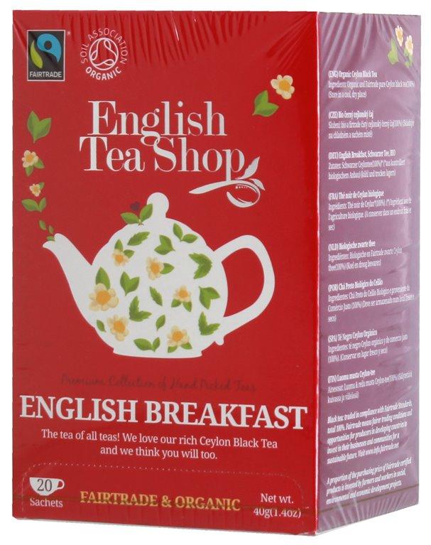 Té English Breakfast Bio Fairtrade 40g (20tb)