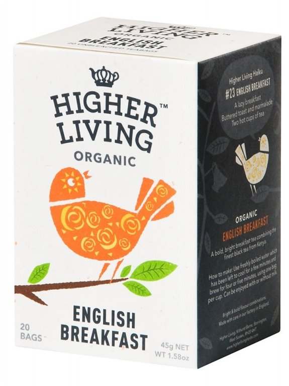 Té english breakfast, 30 gr