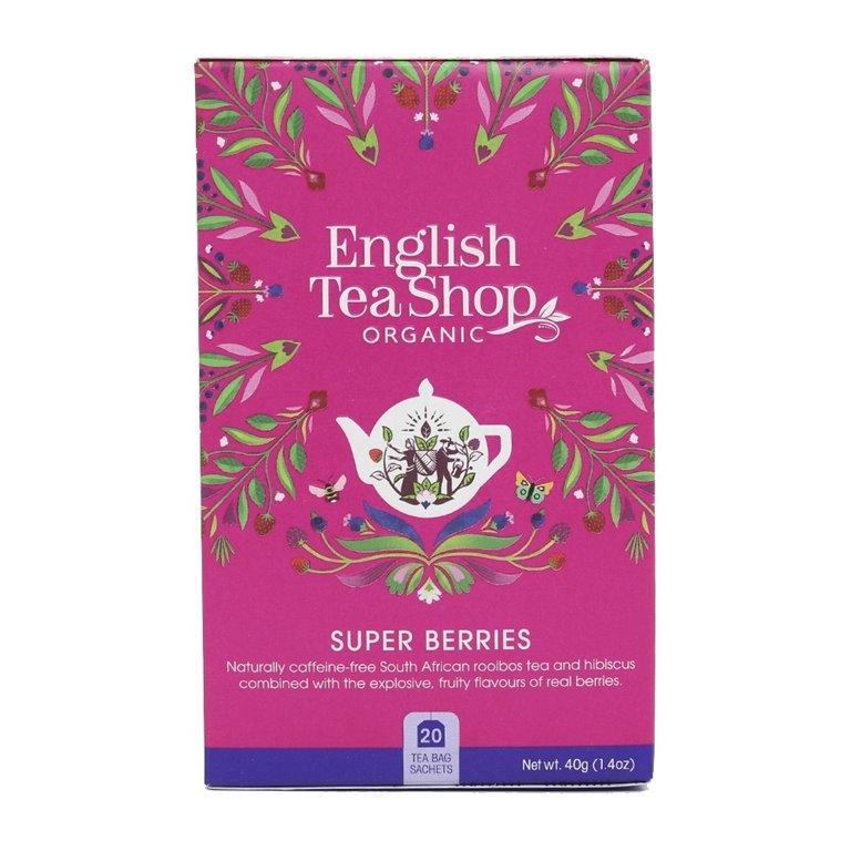 Té Frutos Rojos 40gr. English Tea Shop. 6un., 1 ud