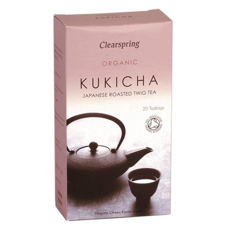 Té Kukicha 36gr. Clearspring. 4un., 1 ud