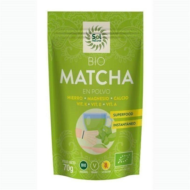 Matcha Tea Powder Solnatural 70g