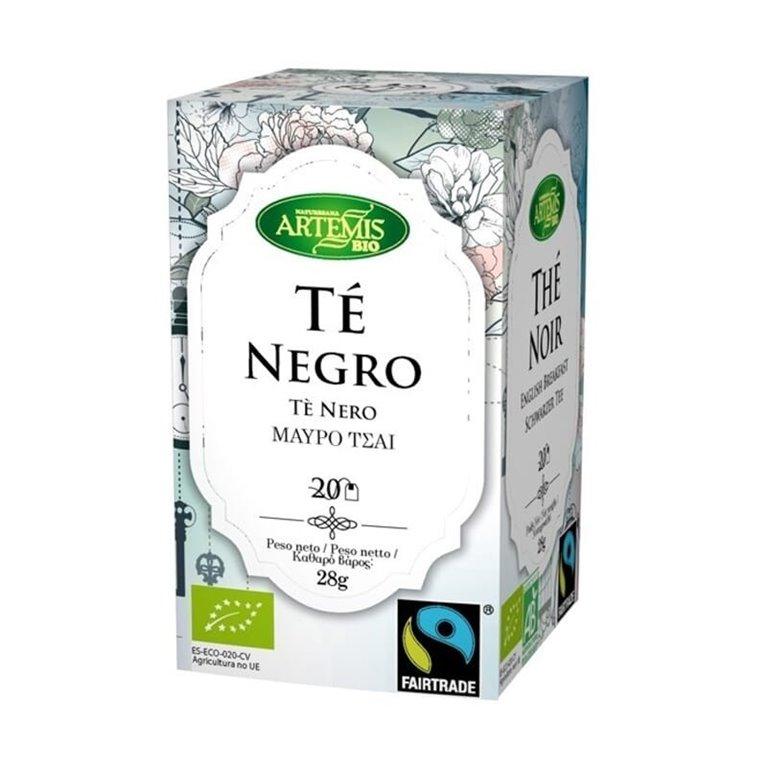 Té  Negro Bio y de Comercio Justo Artemis 20 filtros