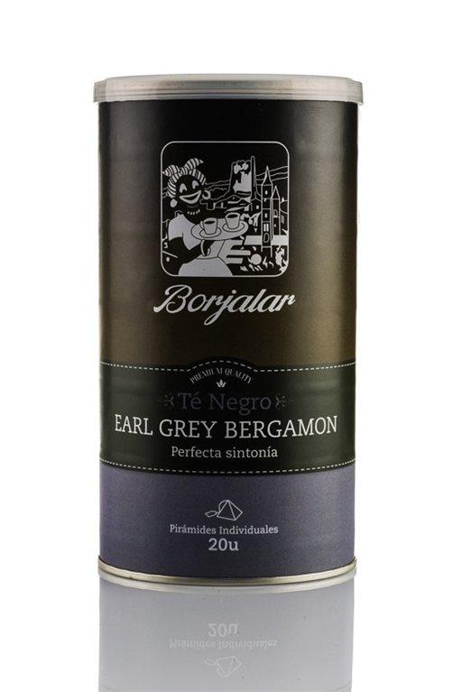 Té negro Earl Grey Bergamon Borjalar