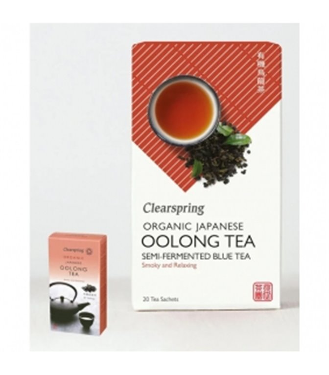 Oolong tea 36gr. Clearspring. 4un.
