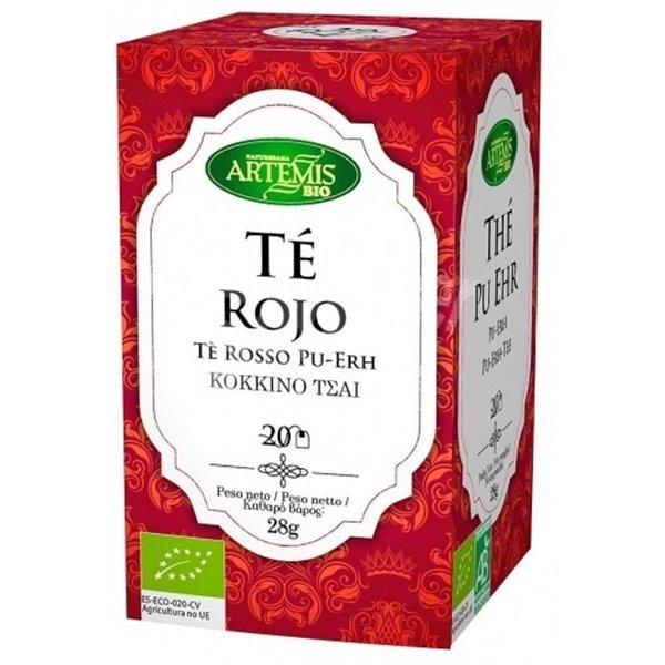 Té Rojo (Pu-Erh) Bio 28g (20tb)