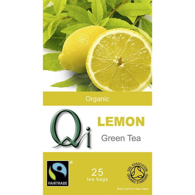 Té Verde Chino con Limón Bio 50g (25tb), 1 ud