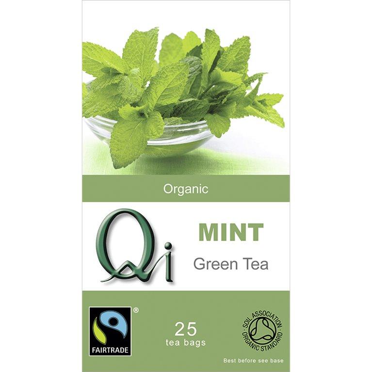 Té Verde Chino con Menta Bio 40g (25tb), 1 ud