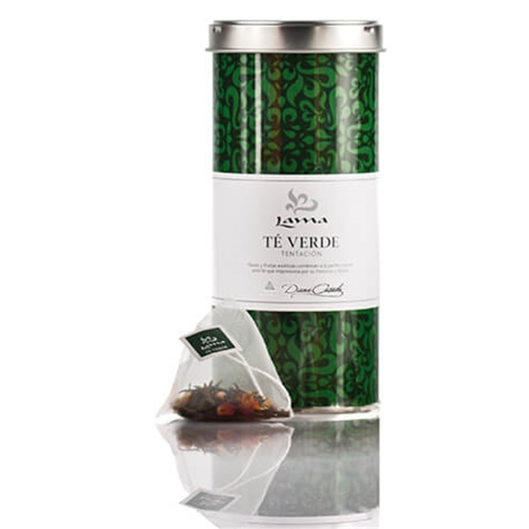 Green tea with ginger and lemon Lama - 15 pyramids
