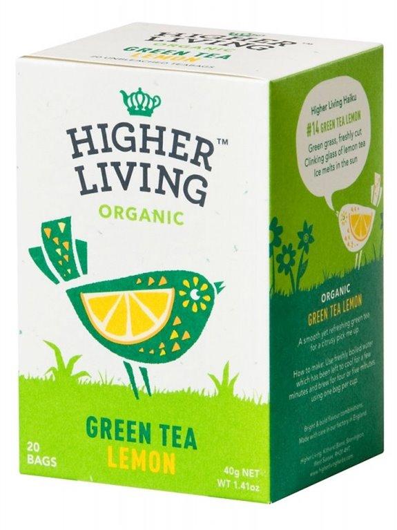 Té verde con limón, 40 gr