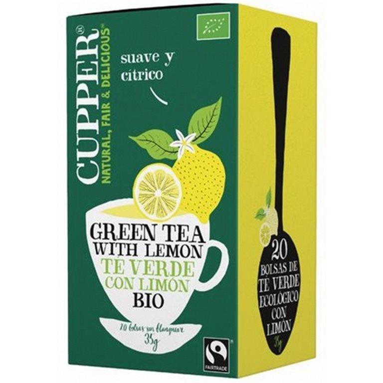 Té Verde con Limón Bio 35g (20tb)