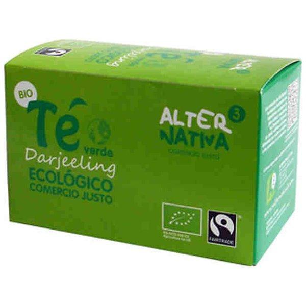 Té Verde Darjeeling Bio Fairtrade 30g (20tb)