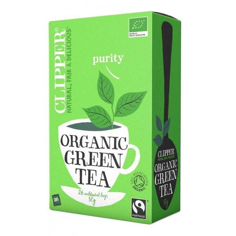 Té Verde Desteinado Bio Fairtrade 40g (20tb), 1 ud