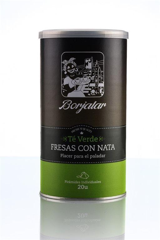 Té verde Fresas con Nata Borjalar