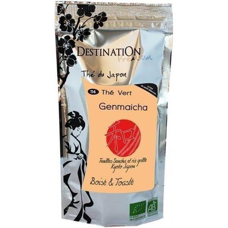 Té verde Genmaicha, 100 gr
