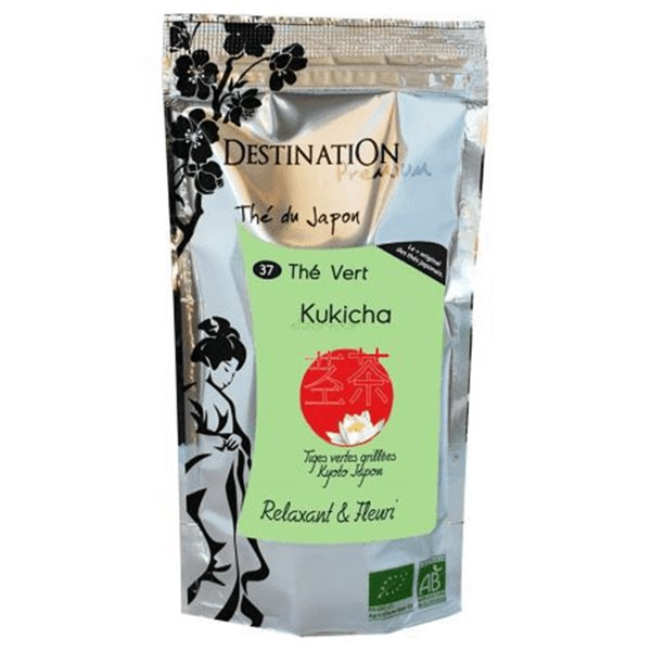 Té Verde Grille Kukicha Japón Bio 80g