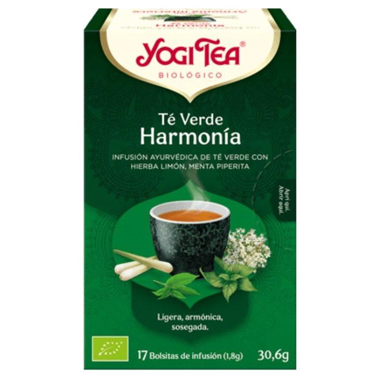 Té Verde Harmonía Bio 30,6g (17tb), 1 ud