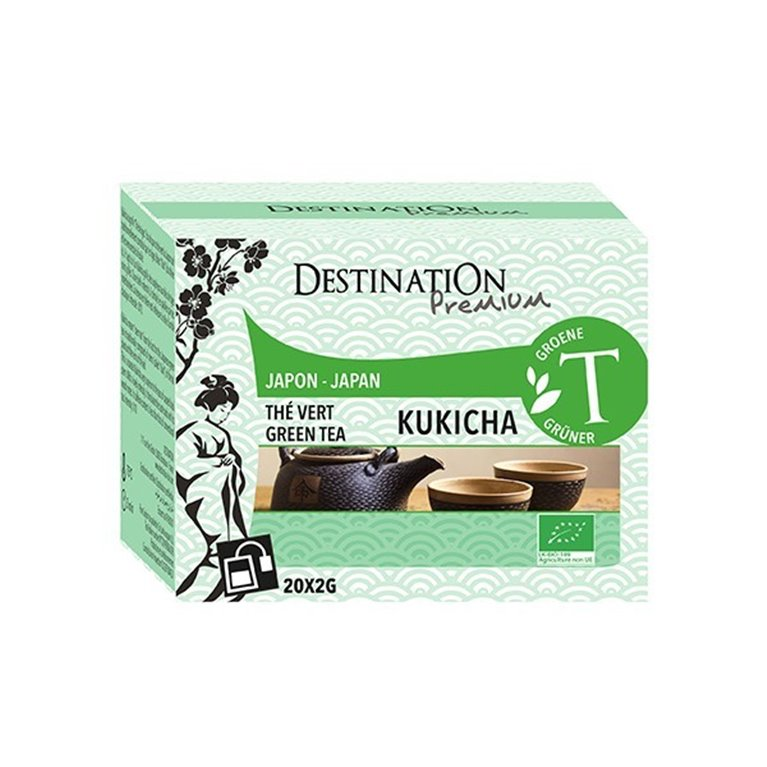 Té Verde Kukicha Bio 40g (20tb)