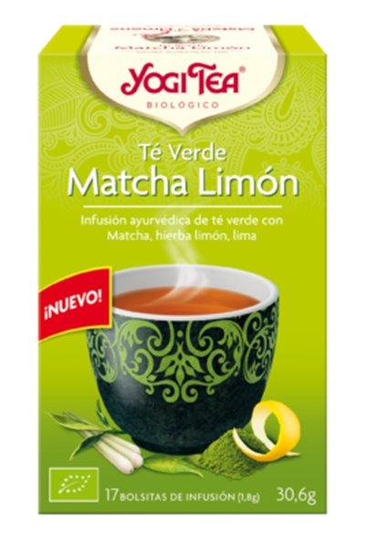 Té verde matcha con limón