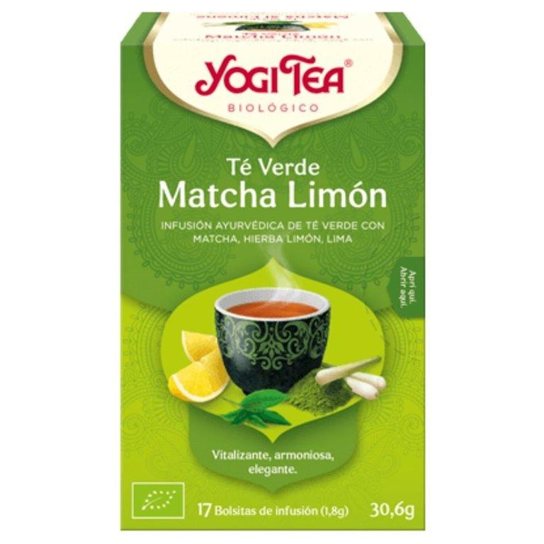 Té Verde Matcha Limón Bio 30,6g (17tb)