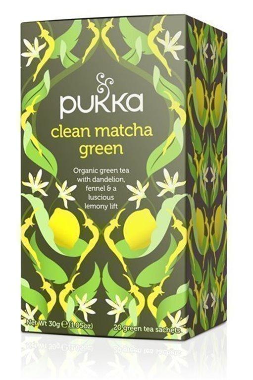 Té verde matcha y limón, 30 gr