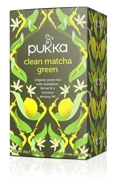 Té verde matcha y limón