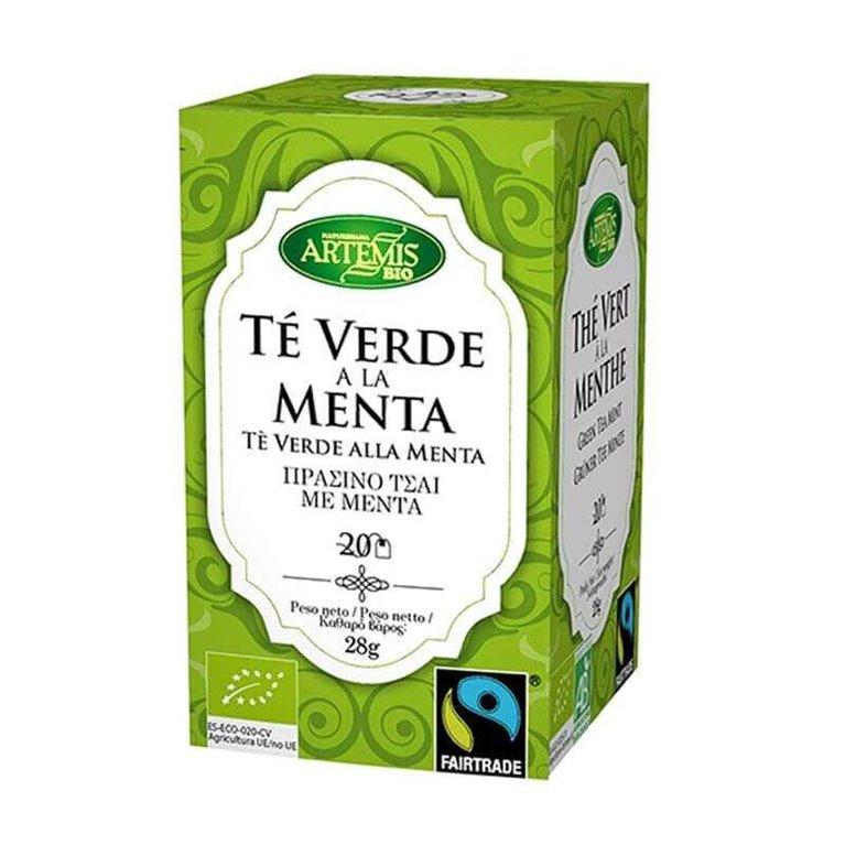 Té verde menta BIO 20 bl - Artemis