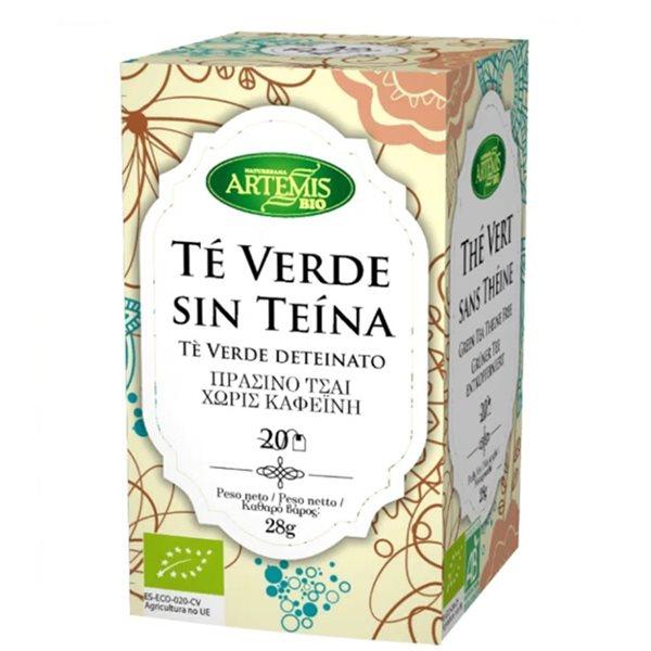 Té Verde (Sin Teína) Bio 28g (20tb)