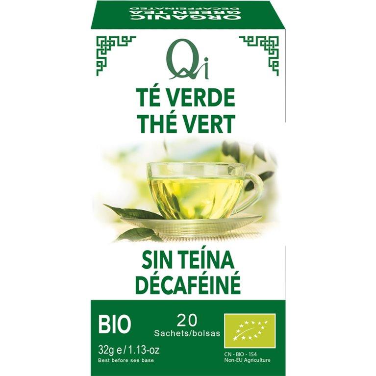 Té Verde Sin Teína Bio 32g (20tb), 1 ud