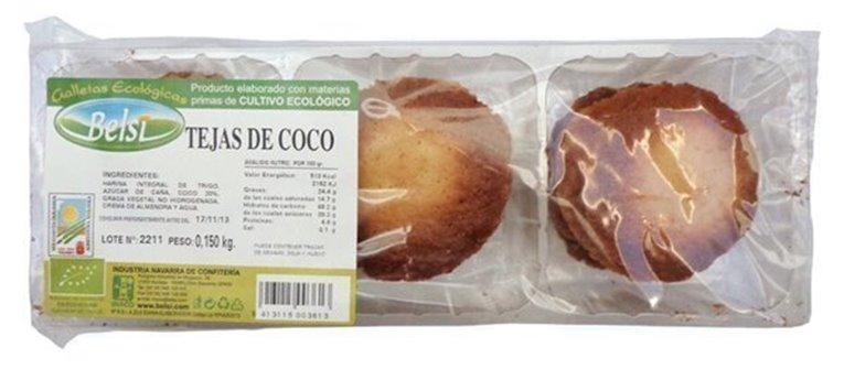 Tejas De Coco, 150 gr
