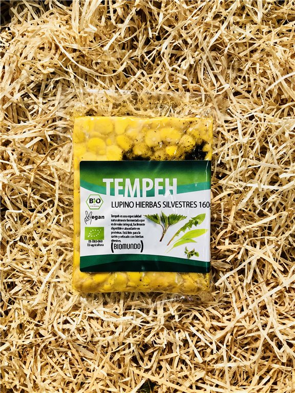 Tempeh Lupino Hierbas Silvestres, 1 ud