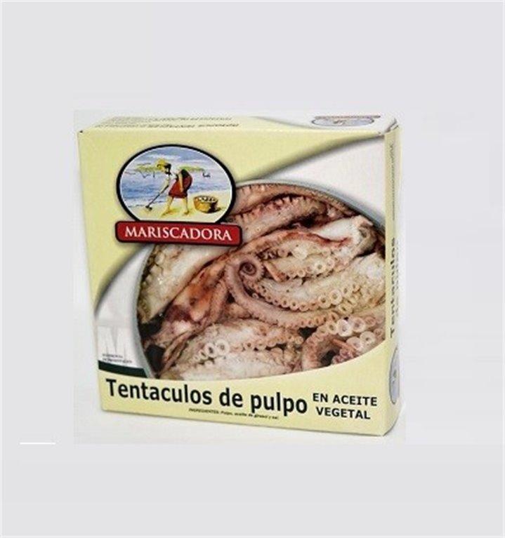 Tentáculos de pulpo mariscadora