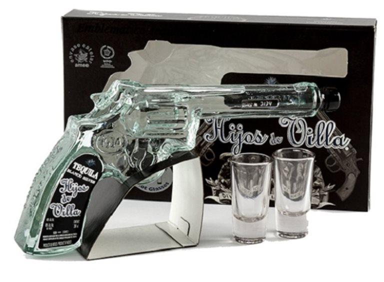 Tequila Hijos de Villa Blanco Revolver