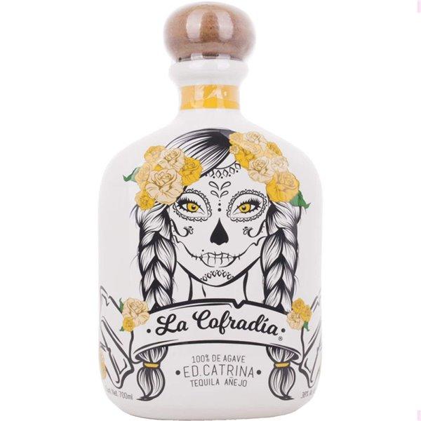 Tequila La Cofradia Catrina Añejo 70cl.