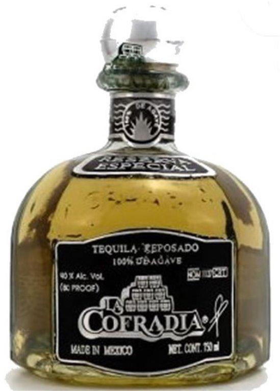 Tequila La Cofradia Reposado, 1 ud