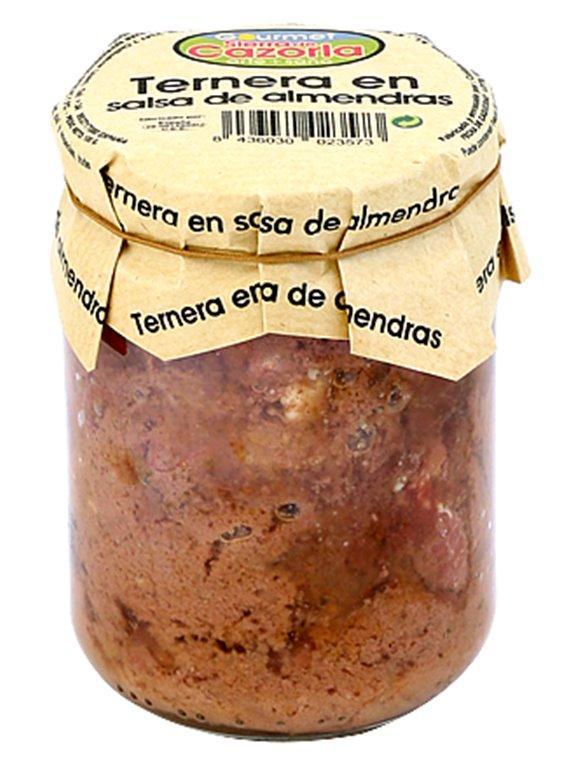 Ternera en salsa de almendras, 1 ud