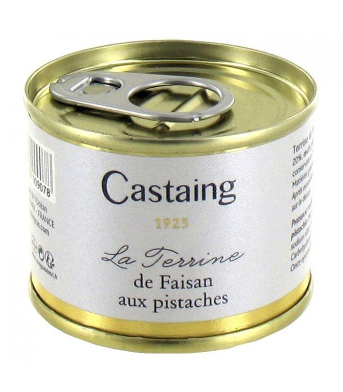Terrina de Faisan con Pistacho 67gr. Castaing. 5un.