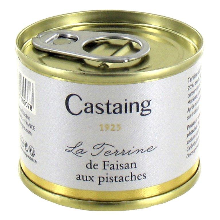 Terrina de Faisan con Pistacho 67gr. Castaing. 5un., 1 ud