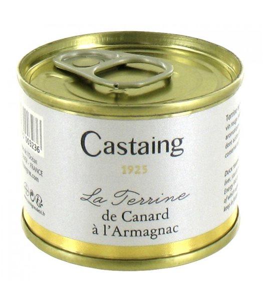 Terrina de Pato al Armagnac 67gr. Castaing. 5un.