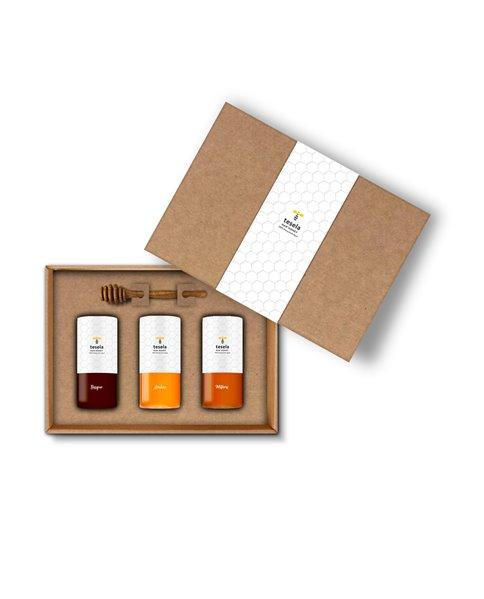 Tesela Premium Honig Geschenkset