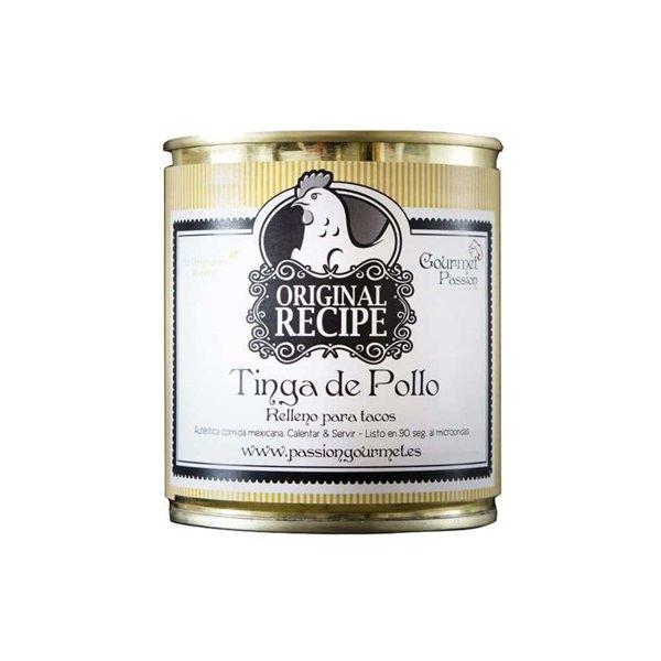 Tinga de Pollo Lata 285g Gourmet Passion México