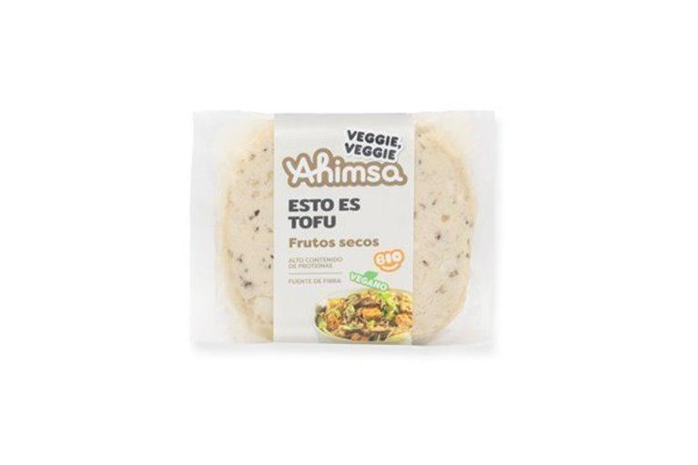 Tofu Frutos Secos Bio Ahimsa, 230 gr