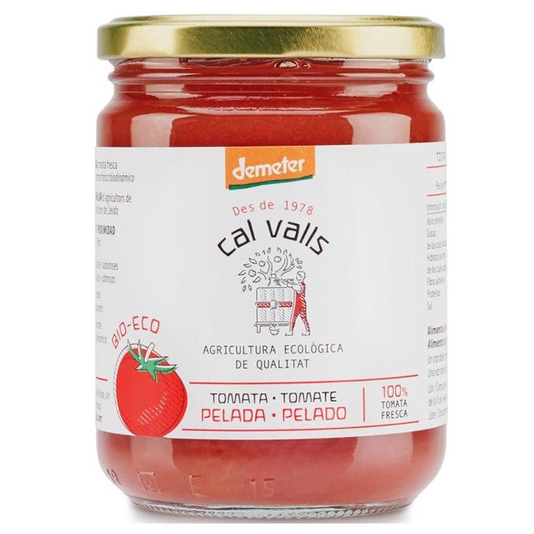 Tomate Entero Pelado Bio 420g