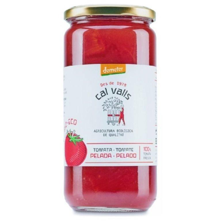 Tomate Entero Pelado Bio 660g